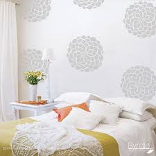 Bedroom Wall Graphic Design Flower Vinyl Wall Decals 10 Flower Bloom Wall Graphics