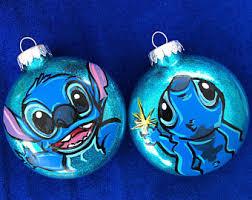 lilo and stitch ornament etsy