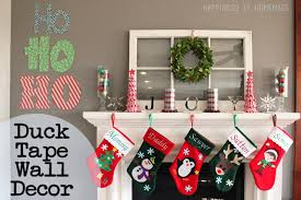 Home Made Wall Decor Quick U0026 Easy Holiday Wall Decor Happiness Is Homemade