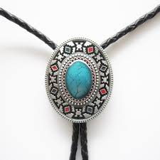 tie knot leather necklace images Buy western southwest cross knot oval bolo tie jpg