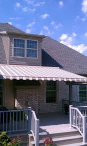 Sunair Retractable Awnings Sunair Retractable Awning With Drop Curtain On End From Thomas V