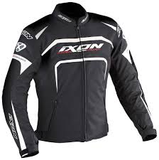 ladies motorcycle gear andor ixon ultra ixon eager textile jacket black white clothing