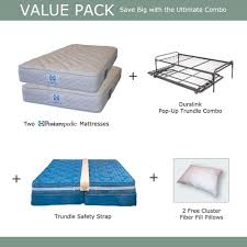 king size bed two mattresses best quality mattress design ideas
