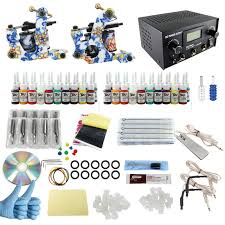 tattoo kit without machine itatoo tattoo machine kit 2 guns professional tattoo kit complete 40