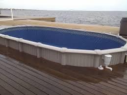 Inground Pool Kits Clearance Semi Inground Pools With Decks Concrete Floor Panels With Semi