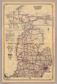 Chicago Road Map by Michigan David Rumsey Historical Map Collection