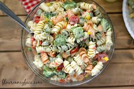 cold pasta salad recipes broccoli and tomato pasta salad flour on my face
