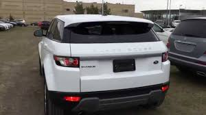 range rover white 2015 pre owned white 2015 land rover range rover evoque pure in depth