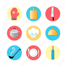 kitchen tools and equipment kitchen utensils and kitchen flat icons cooking tools utensils