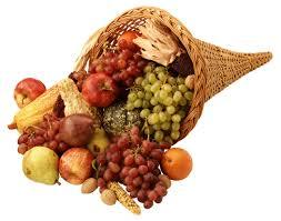 thanksgiving cornucopia clipart thanksgiving food baskets clipart 44