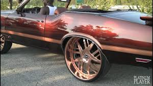 rose gold infiniti car olds 442 on rose gold 26s forgiato decimo youtube