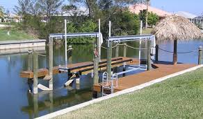 boat dock electrical wiring power and lighting