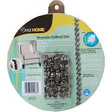 Upholstery Nail Strips Nailhead Trim 5 Yards Silver Walmart Com