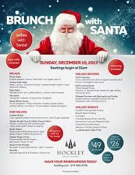 brunch with santa hockley valley resort