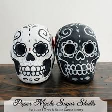 skull cake topper custom made wedding cake toppers paper mache skulls day of the