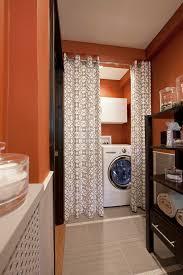 Curtain Separator Modern Curtain Ideas Laundry Room Contemporary With Curtain