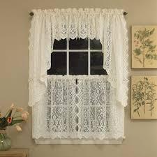 Balloon Curtains For Kitchen by Kitchen Kitchen Garden Window Curtains With Hopewell Heavy Cream