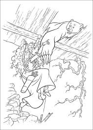 disney pixar brave coloring pages coloringstar