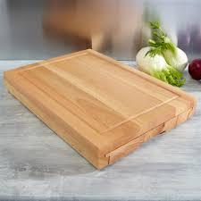 planche en bois cuisine vente set de 5 couteaux de cuisine avec planche à découper en bois