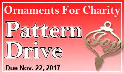 ornaments for charity pattern drive 2017 general scroll sawing