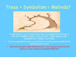trees as symbols in speak by laurie halse anderson ppt video