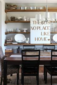 simple dining room ideas easy diy dining room shelves design ideas image