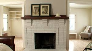 refinishing a brick fireplace video diy