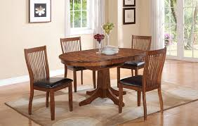 20 perfectly shaped oval pedestal table for your dining area