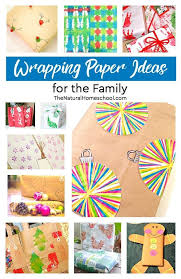 awesome wrapping paper unique wrapping paper ideas for the family the homeschool