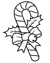 candy cane coloring pages christmas coloringstar