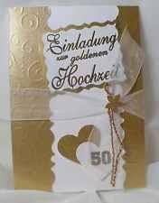 sprã che einladung goldene hochzeit goldene hochzeit ebay
