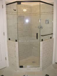 Bathroom Shower Doors Ideas Bathroom Dazzling Corner Frameless Shower Door Ideas Some