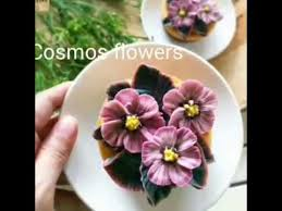 Flowers By Violet - how to make buttercream flower cosmos flowers buttercream