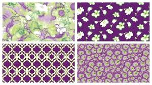 Purple And Green Bedding Sets Purple And Green Comforter Sets Tranquility 2 Yard Purple Green