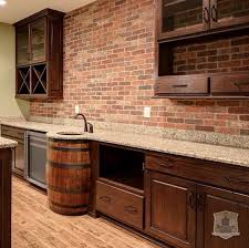 copper backsplash ideas home bar rustic with wine blending rustic elements with modern conveniences the bar area in