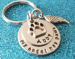 remembrance keychain pet remembrance etsy