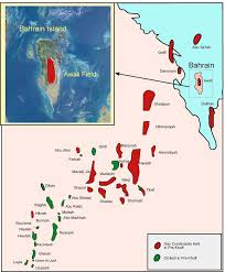 Map Of Bahrain Deep Gas Potential Of Onshore Bahrain Field Pdf Download Available