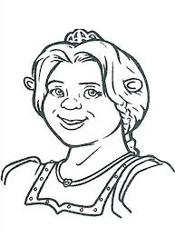 shrek coloring pictures coloring pages kids