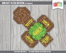 minecraft invitations template all the best invitation in 2017