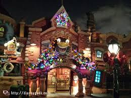 roger rabbit car toon spin christmas lights disneyland toontown