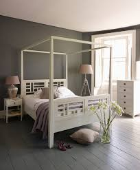 white four poster bed from lombok i may pinned this already