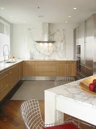 kitchen marble backsplash white marble backsplash kitchen contemporary with breakfast bar