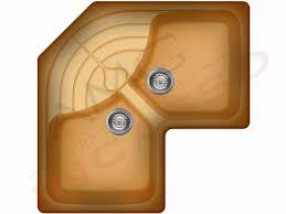 lavello angolare lavello angolare elleci master corner lsmcor12 83x83 2 vasche con