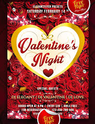 25 psd flyers elements for st valentine u0027s day free psd