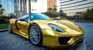 sick porsche 911 really sick gold chrome porsche 918 porsche