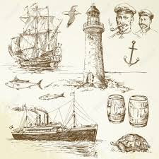 lighthouse drawing images u0026 stock pictures royalty free