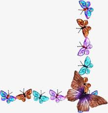 butterfly pattern decorative motifs decorative material