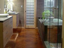 unique bathroom flooring ideas bathroom flooring options hgtv