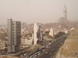 panoramio photo of makkah skyline and abraj al bait tower