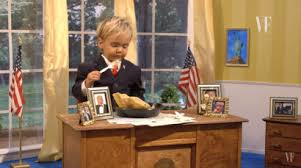 Trump Oval Office Rug Vanity Fair Video Has Toddler Trump Trashing Oval Office